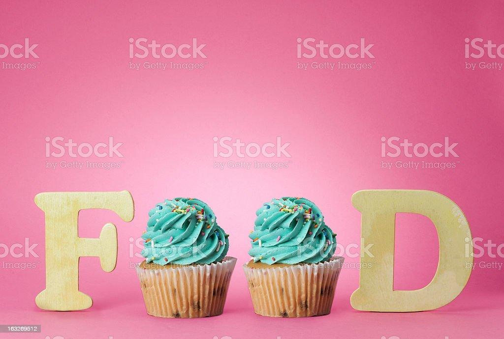 Food Cupcakes royalty-free stock photo