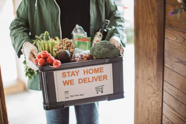 Lebensmittellieferungen – Foto