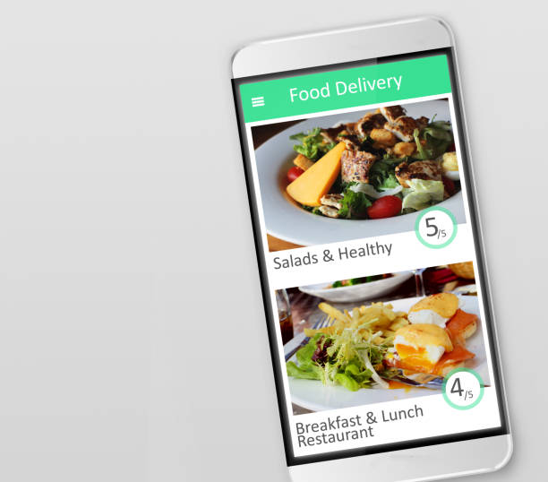 food delivery - food delivery стоковые фото и изображения