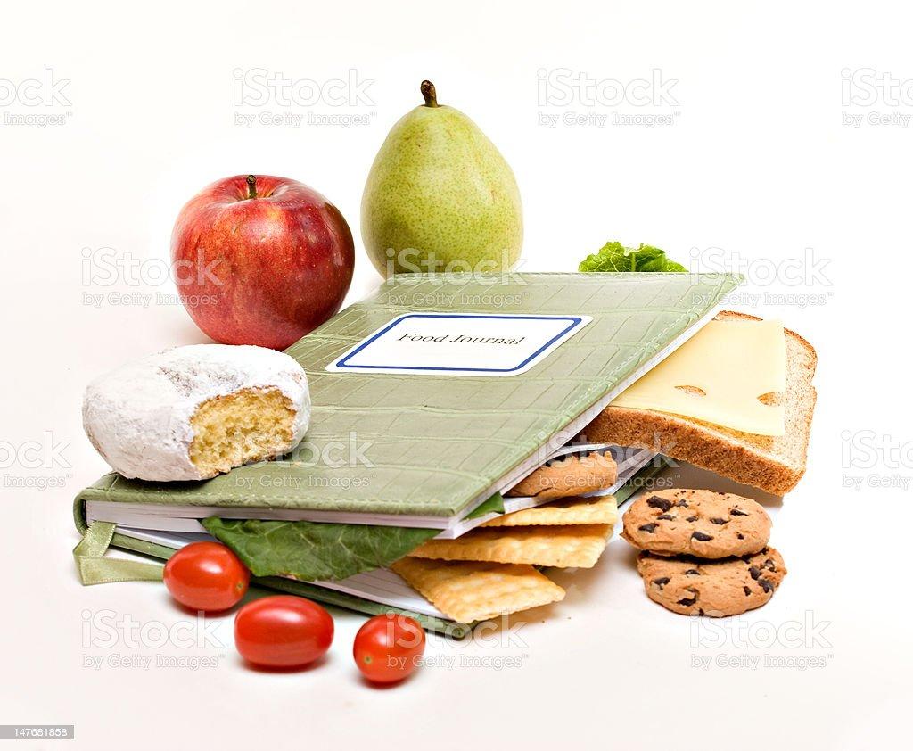 Food Diary royalty-free stock photo