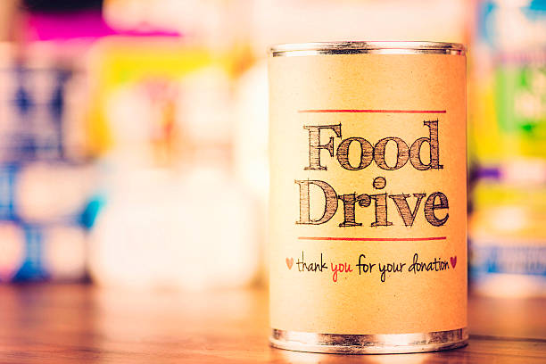 Food Drive Food Drive Promotion food drive stock pictures, royalty-free photos & images