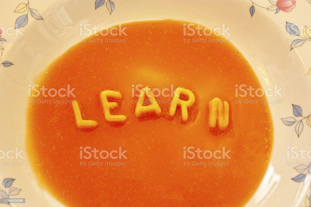 Food Education royalty-free stock photo