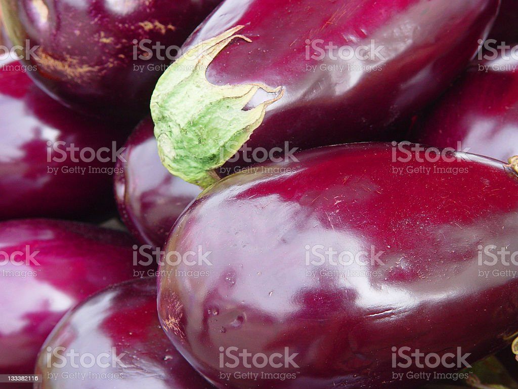 Food: Eggplant royalty-free stock photo