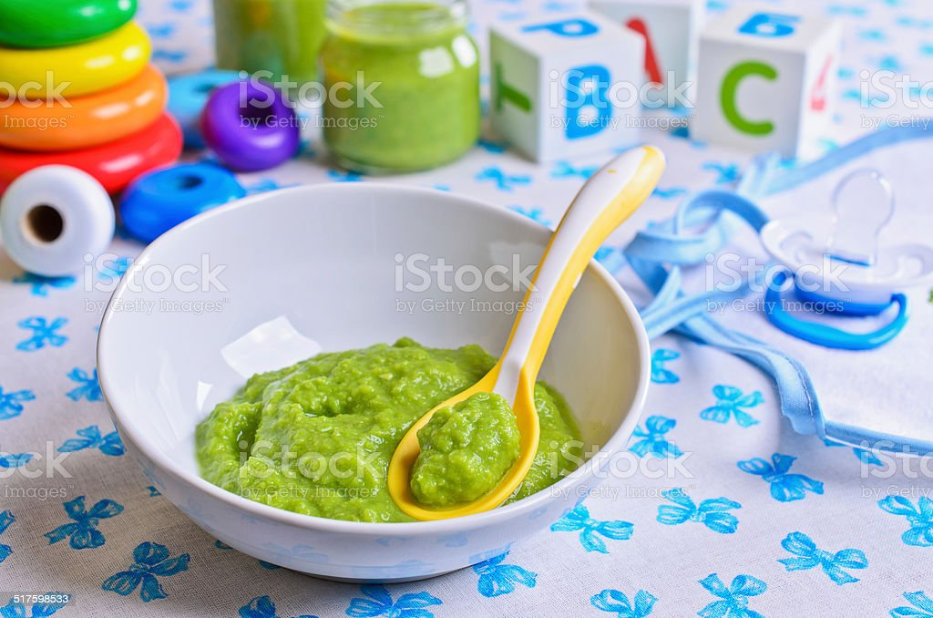 Food for children stock photo