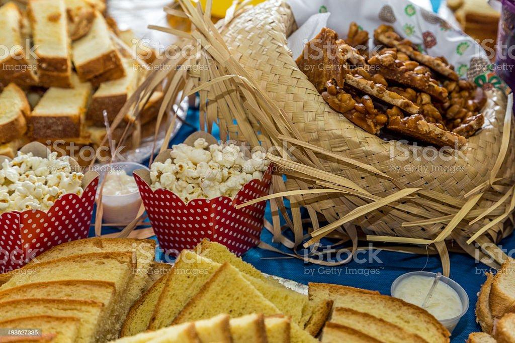 Comida para Junina Party (Festa Junina) - foto de acervo