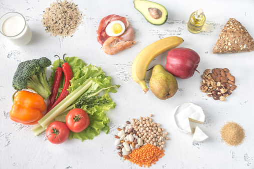 Food For Planetary Health Diet Stock Photo - Download Image Now