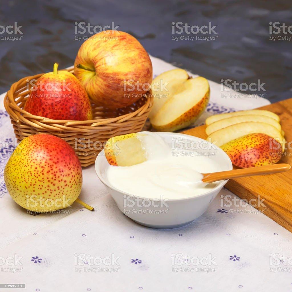 Dieta yogurt y manzana