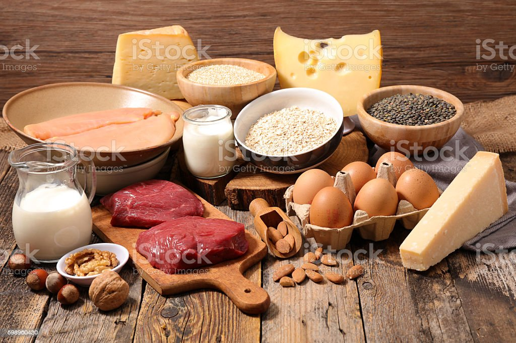 food high in protein,protein sources stock photo