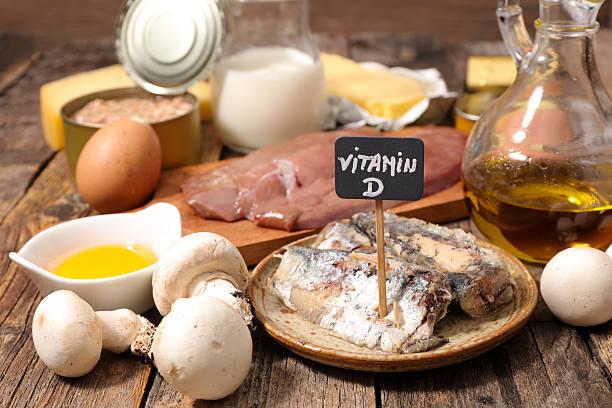 food high in vitamin d - vitamin d стоковые фото и изображения
