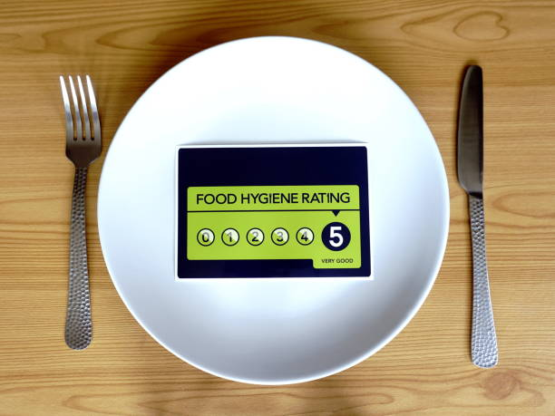 food hygiene rating 5 - hygiene stock pictures, royalty-free photos & images