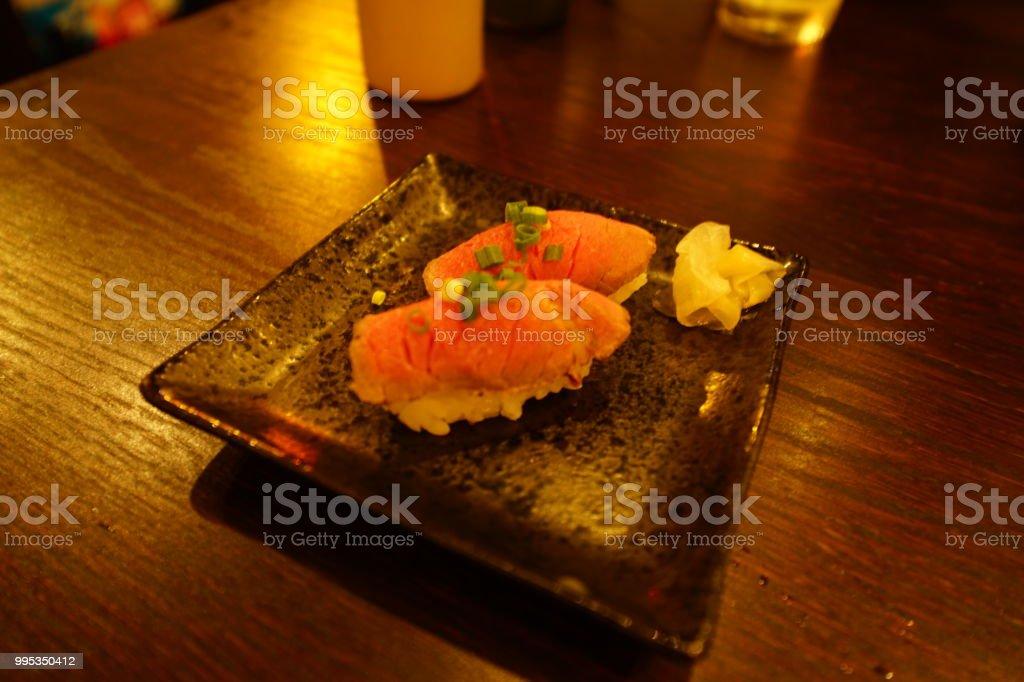 Food in Okinawa stock photo