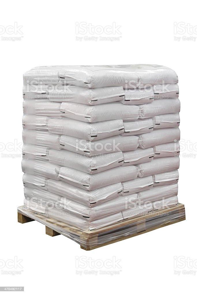Alimentos en sacos - foto de stock