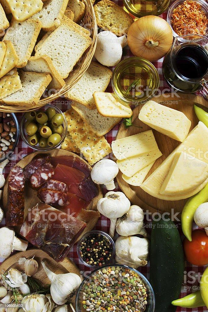 Food ingredients royalty-free stock photo