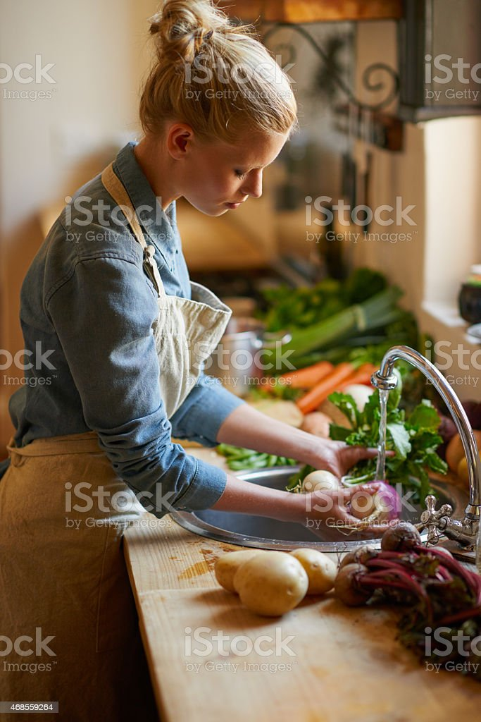 Food is a passion... stock photo