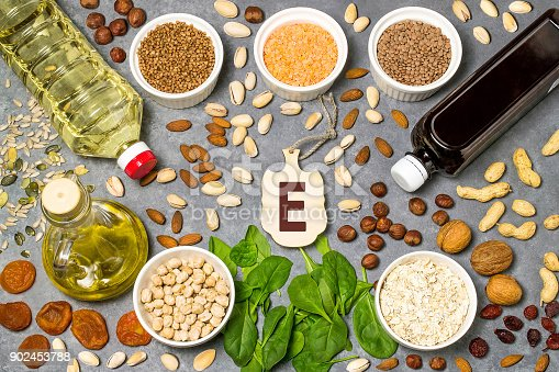 istock Food is source of vitamin E 902453788