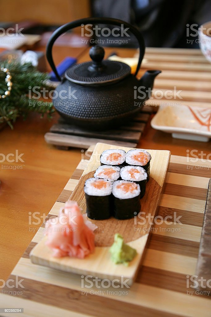food, Japanese restaurant royalty-free stock photo