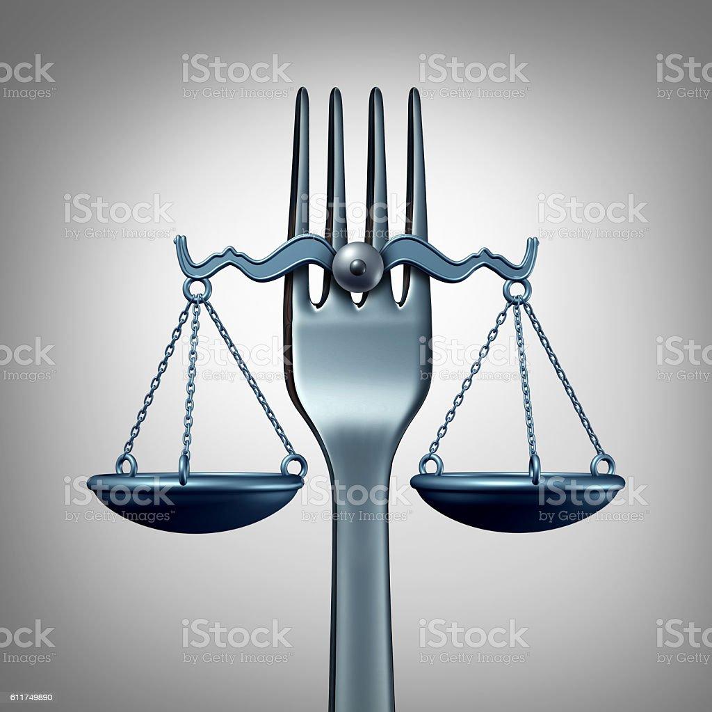 Food Law stock photo