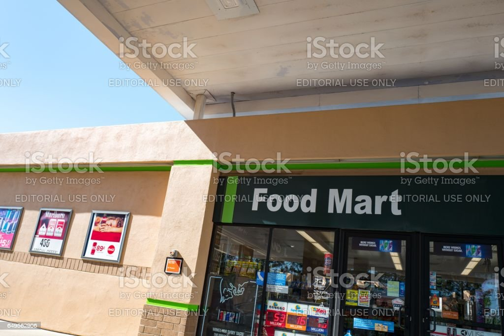 Food Mart stock photo