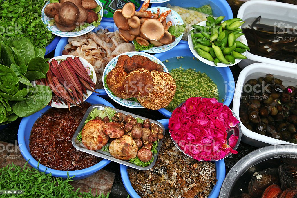 Food materials royalty-free stock photo