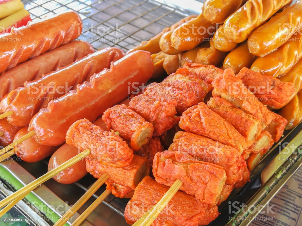 Food, Meatball, Take Out Food, Asia, Barbecue stock photo