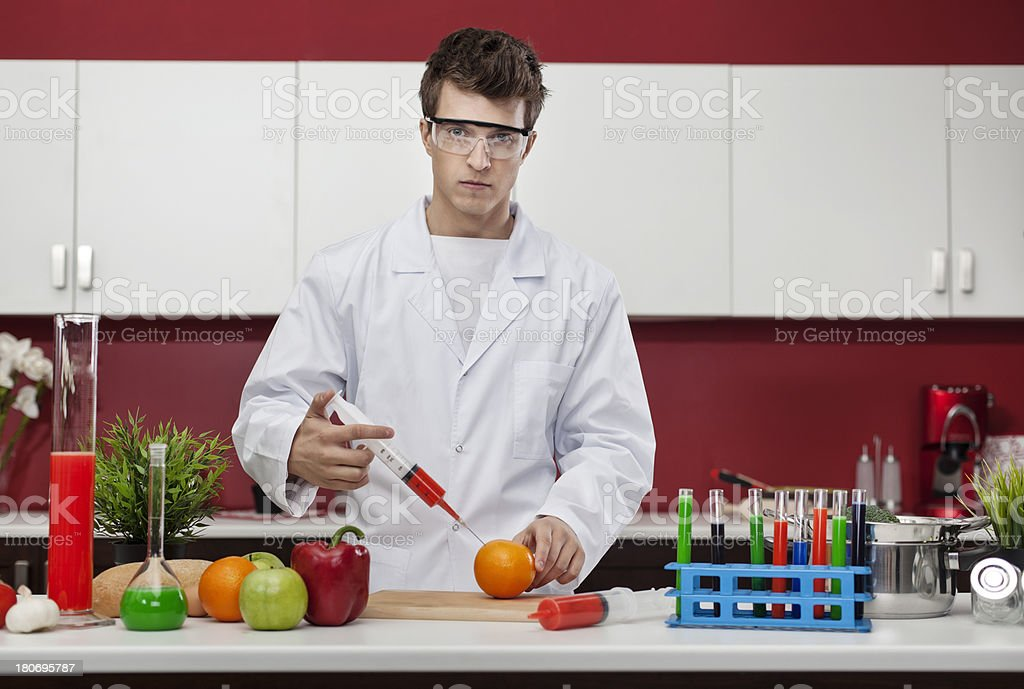 Food modification royalty-free stock photo