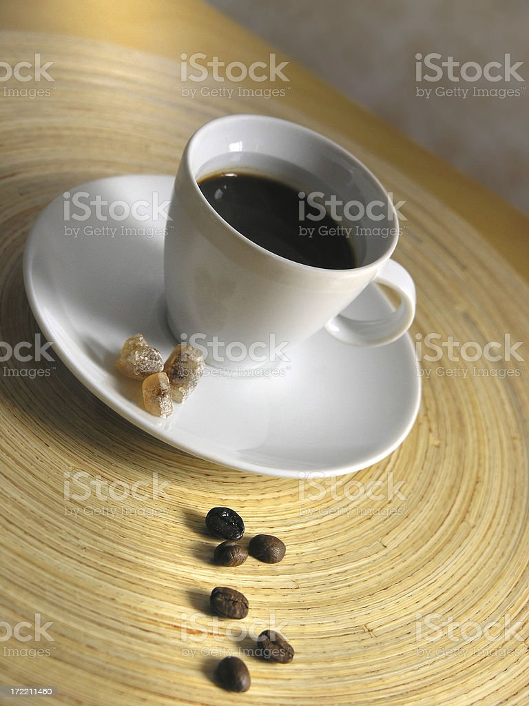 food: natural coffee moments royalty-free stock photo