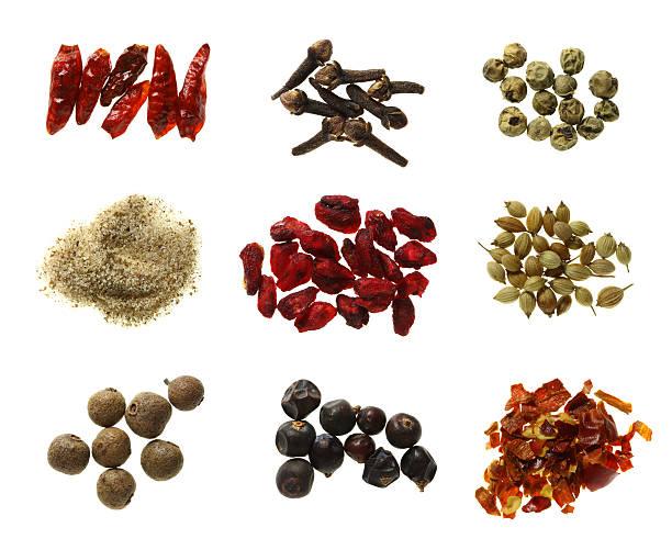 food nine spices super macro shots XX-Large size stock photo