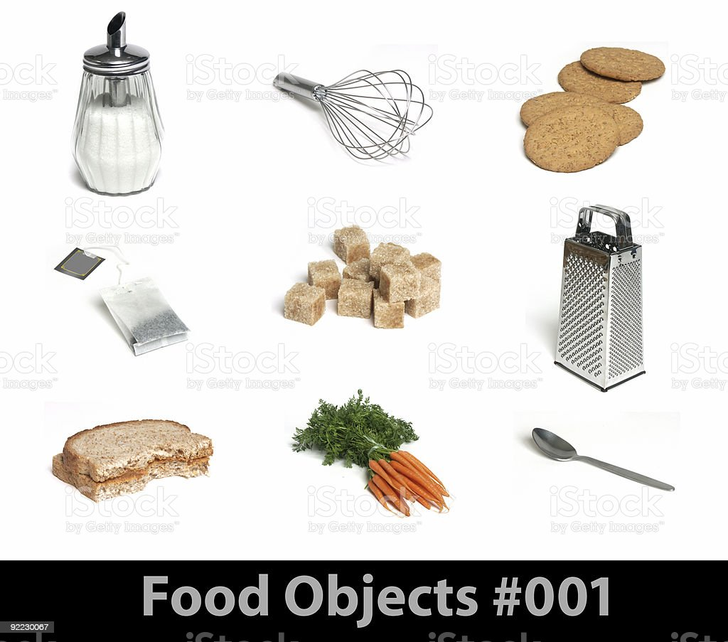 Food Objects 001 royalty-free stock photo