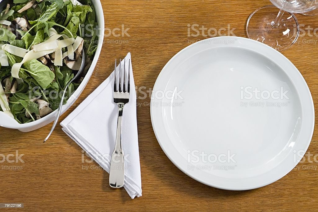 Food on a table royalty-free stock photo