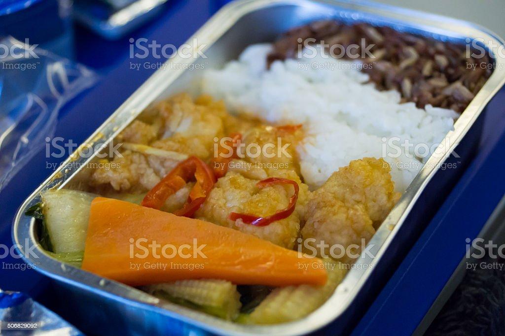 food on board stock photo