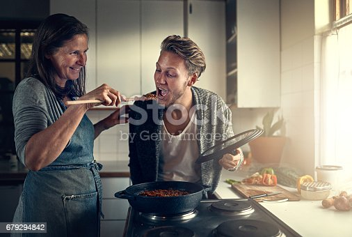 istock Food only a mom can cook 679294842