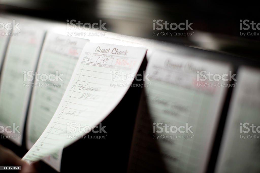 Food Order stock photo