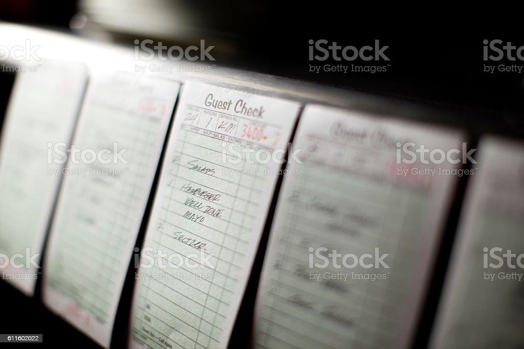 Food Orders stock photo