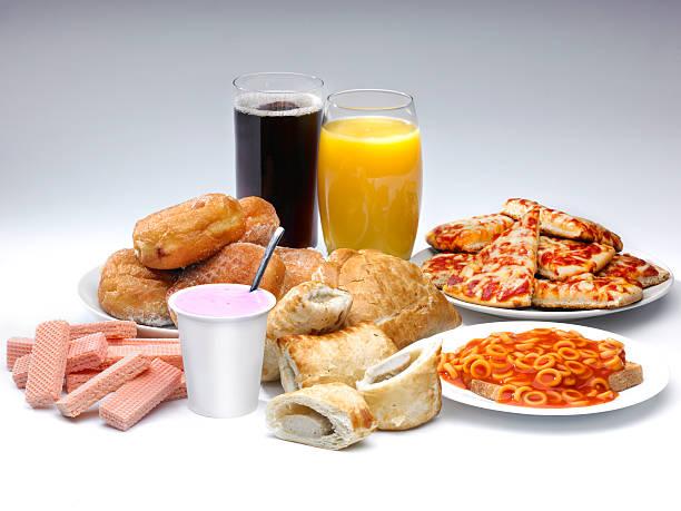 Los alimentos - foto de stock
