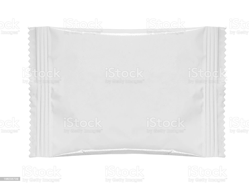 food plastic package stock photo