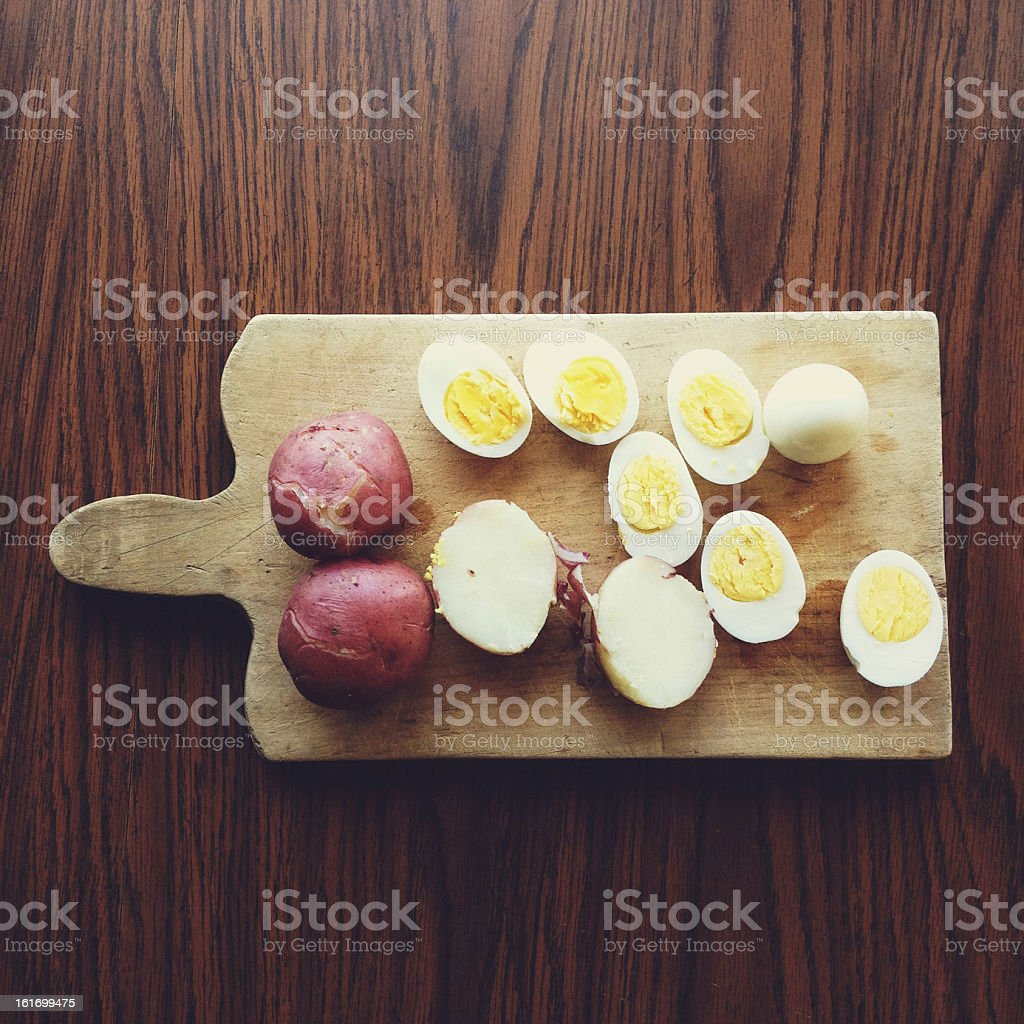 Food Prep stock photo