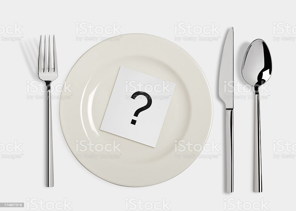 Food problematic stock photo