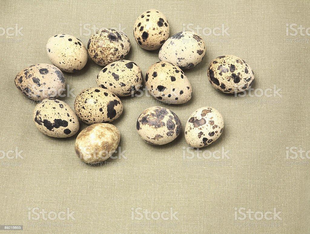 Food, Quail Eggs royalty-free stock photo
