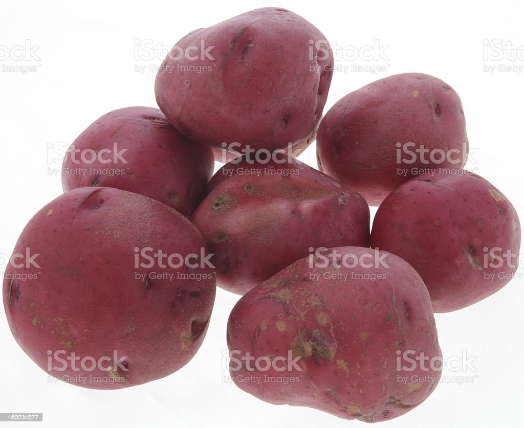 Food Red Potatoes royalty-free stock photo