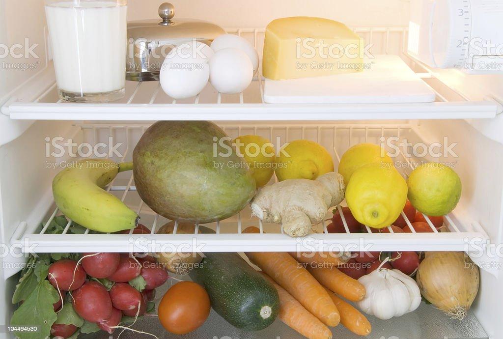 food refrigerator royalty-free stock photo