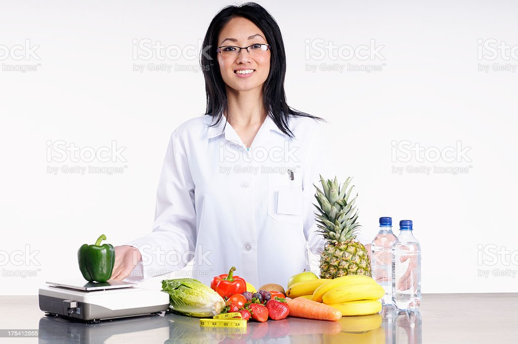 Food Science royalty-free stock photo