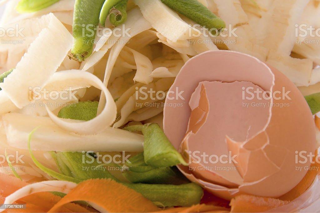 Food scraps royalty-free stock photo