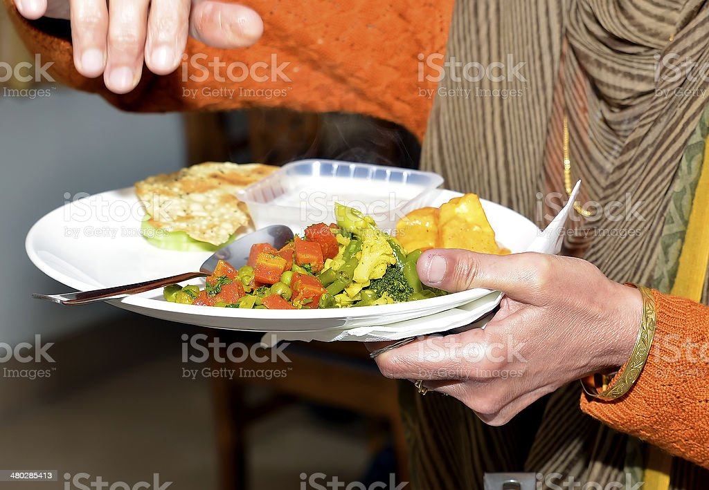 Food service occupation stock photo