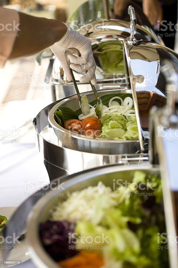 Food service royalty-free stock photo