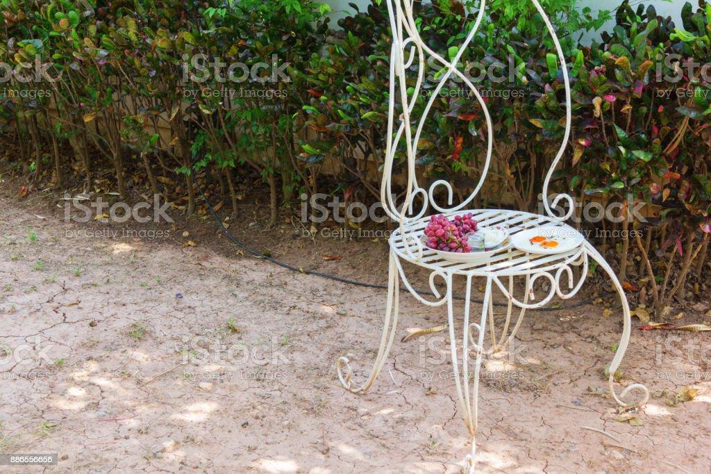 food set for worship stock photo