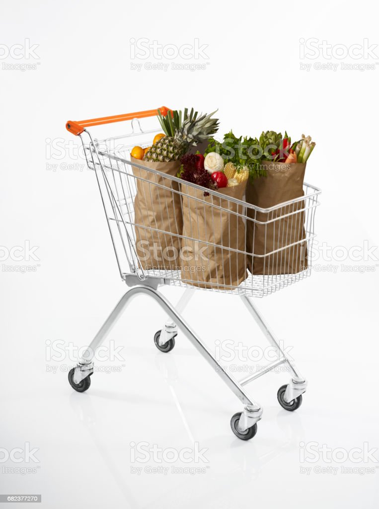 food shopping royalty-free stock photo