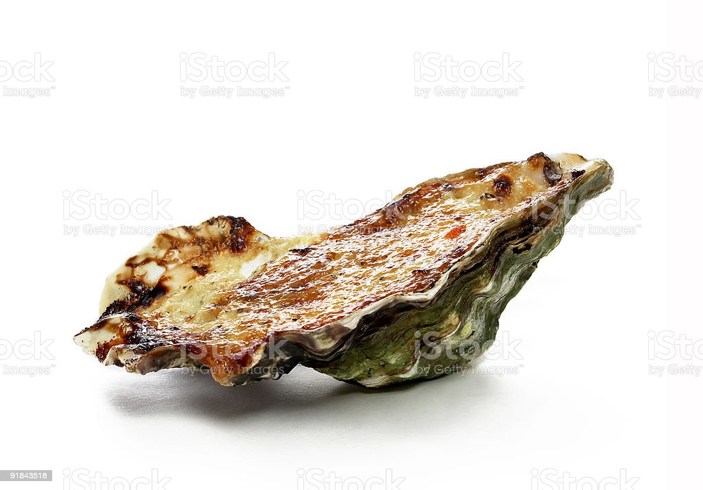 Food Shot - Oyster stock photo