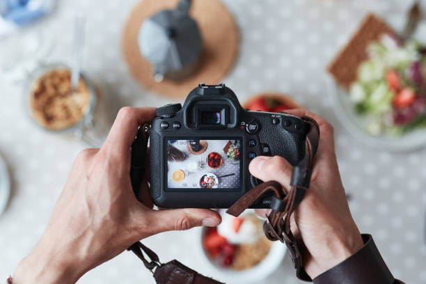 food shot - food styling stock photos and pictures