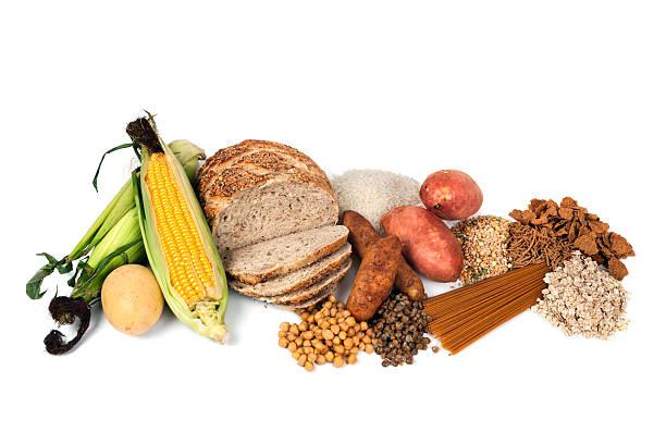 Fuentes de alimentación de un complejo de carbohidratos - foto de stock