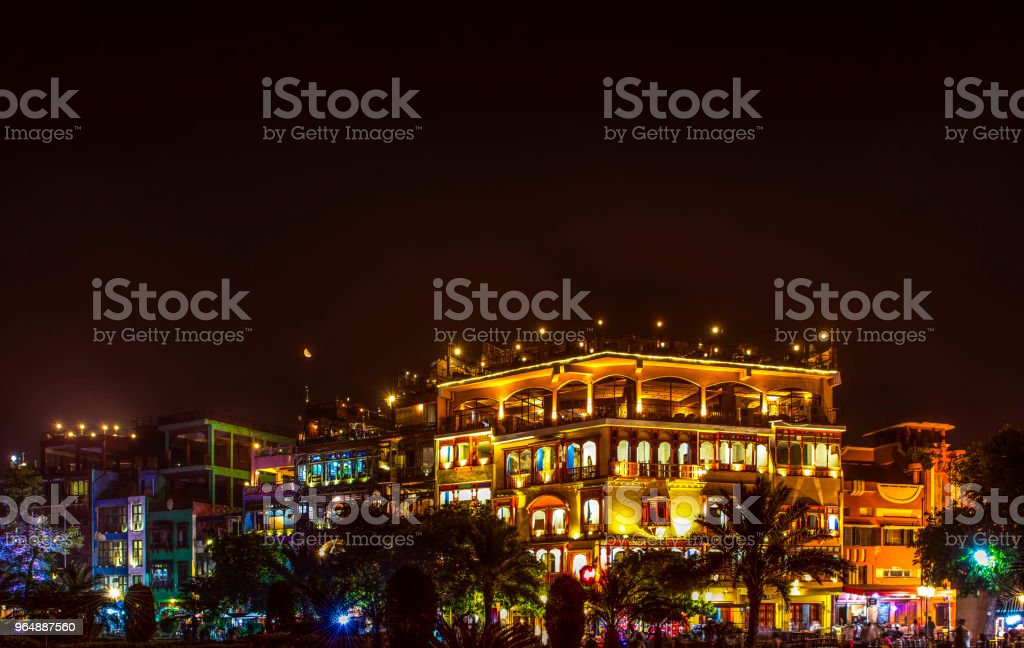 Food Street ,Lahore ,Pakistan royalty-free stock photo